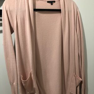 Sweaters - Blush pink cardigan from Pulse Boutique